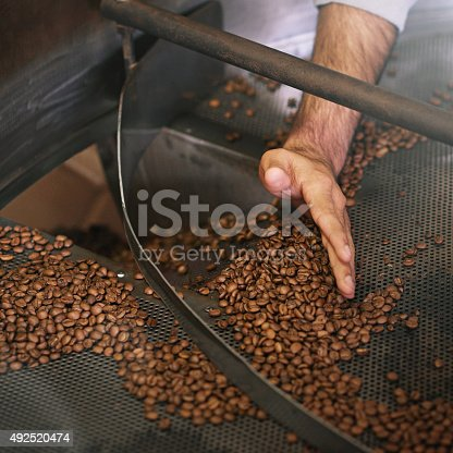 istock Hand-sifted beans 492520474