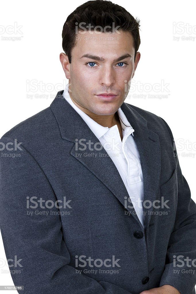 Handsom businessman royalty-free stock photo