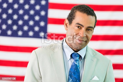 507831144 istock photo Handsome African American Politician 539356106