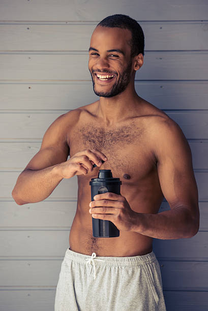 Best Handsome Naked Black Men Stock Photos, Pictures