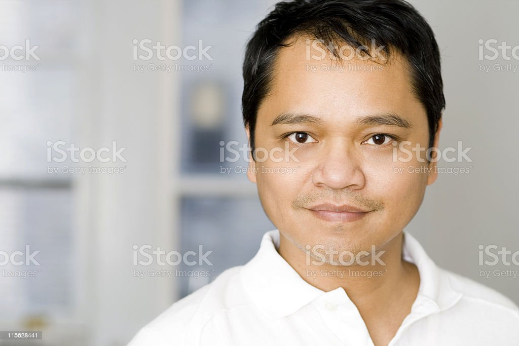 Handsome Asian Male stock photo