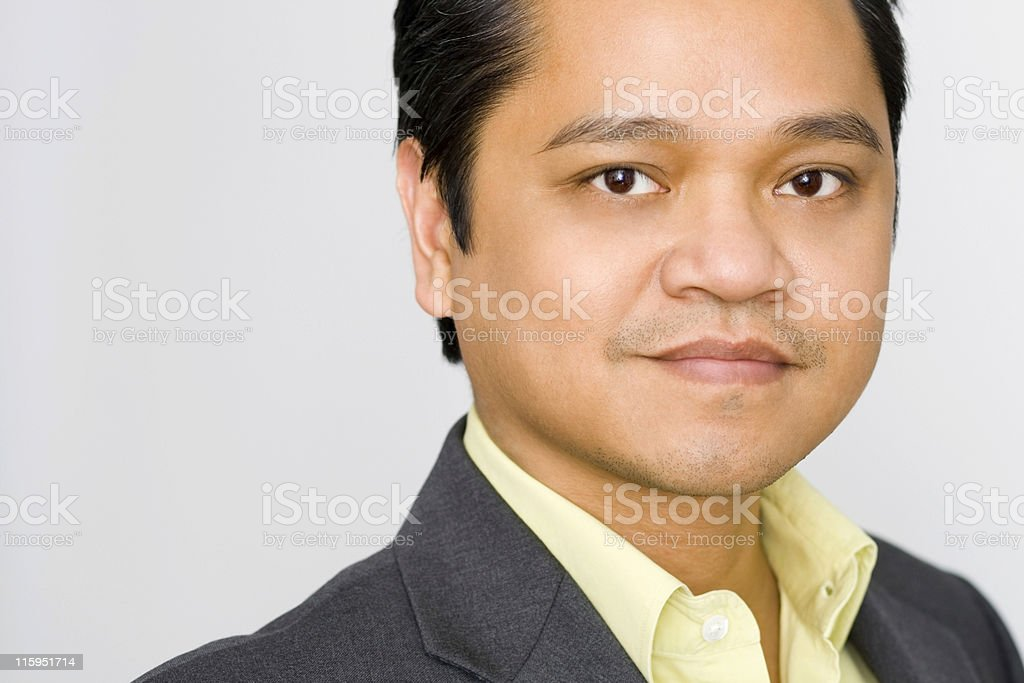 Handsome Asian Male royalty-free stock photo