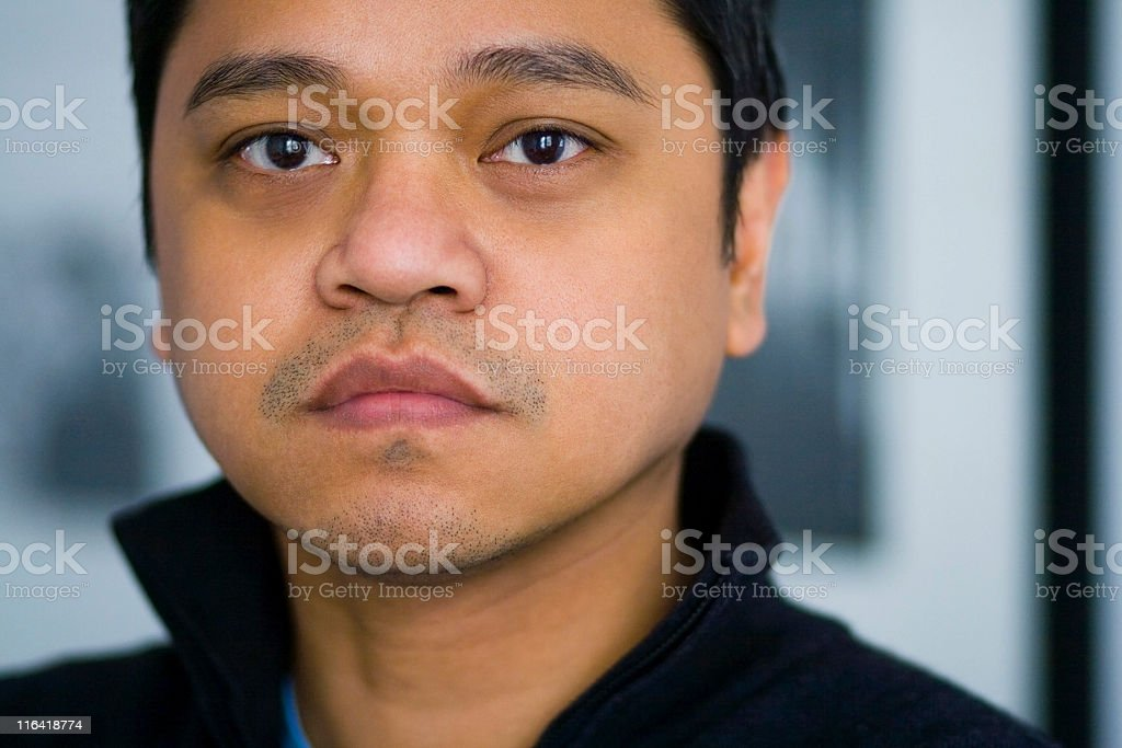 Handsome Asian Man stock photo