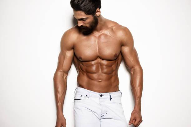 Handsome Athletic Men stock photo