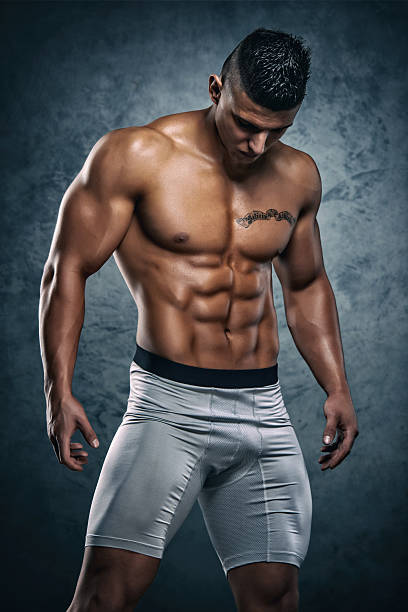 handsome athletic men - handsome people stock photos and pictures