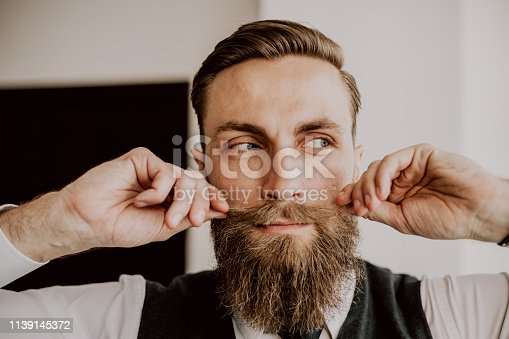 464621546 istock photo Handsome bearded hipster 1139145372