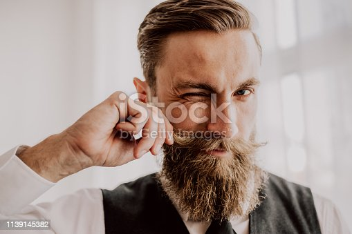 464621546 istock photo Handsome bearded hipster 1139145382