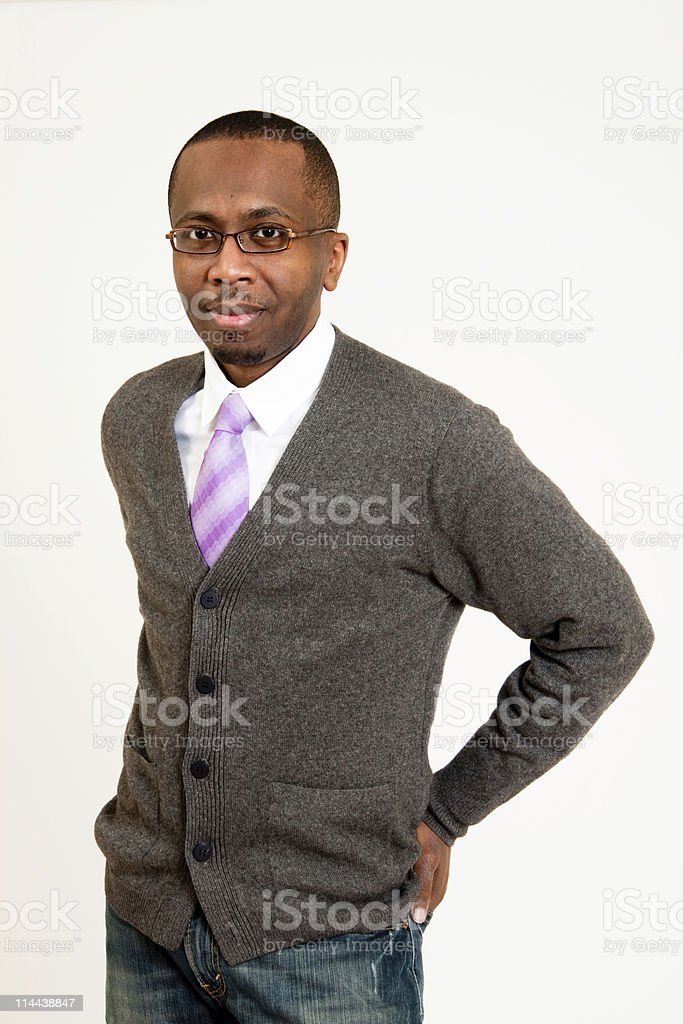 Handsome Black Man royalty-free stock photo