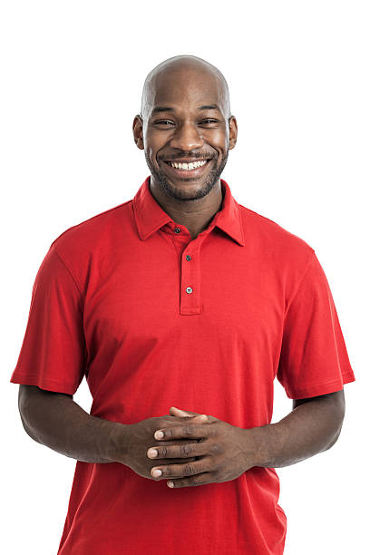 Handsome Black Man Portrait stock photo