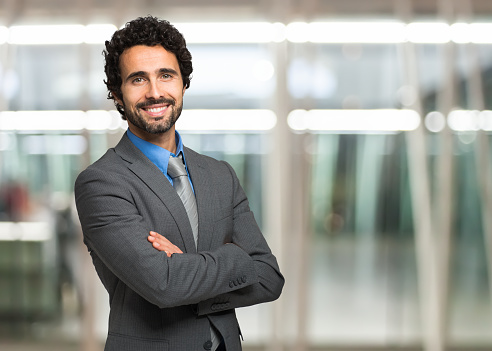 istock A handsome business man posing for a portrait photograph 470846314