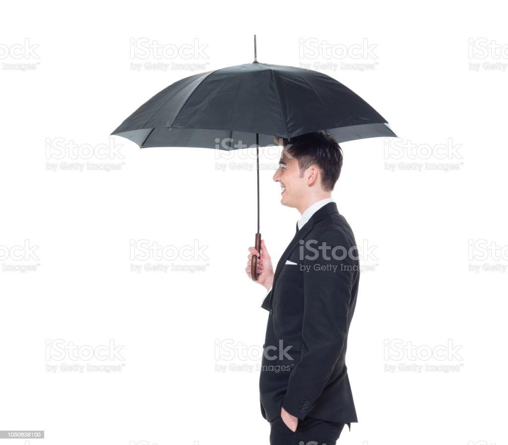 Download Holding An Umbrella  Gif