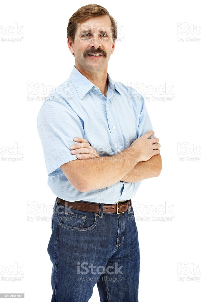 Handsome Casual Mature Male royalty-free stock photo