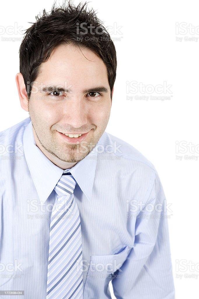 Handsome caucasian Businessman royalty-free stock photo