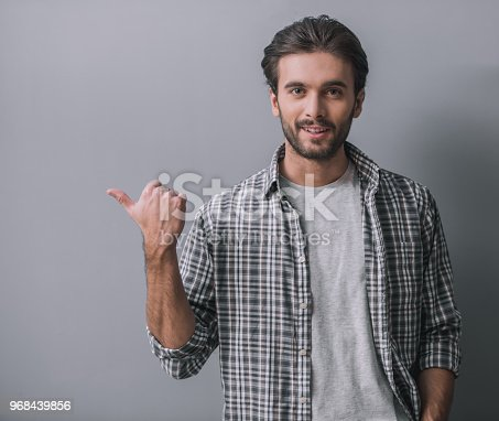 istock Handsome confident man 968439856