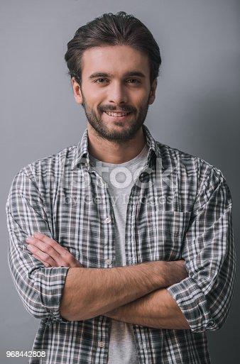 istock Handsome confident man 968442808