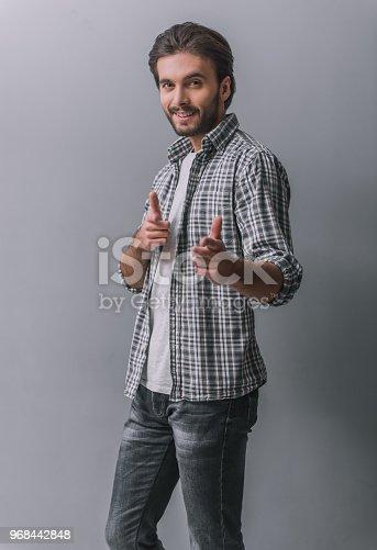 istock Handsome confident man 968442848