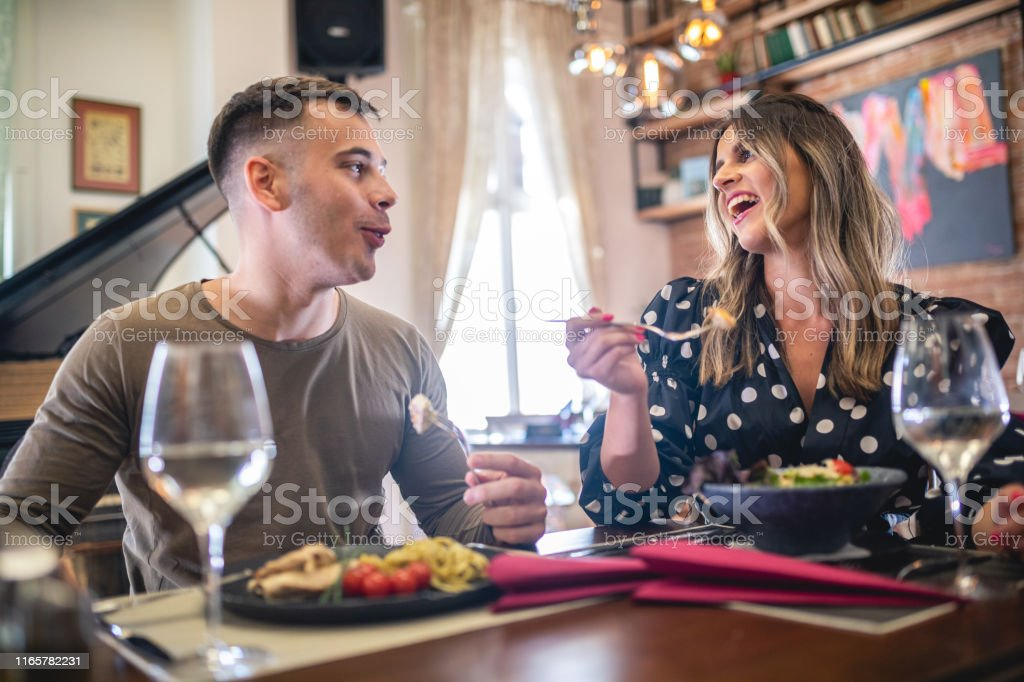 Handsome Couple Out On A Dinner Date Stock Photo Download Image Now Istock