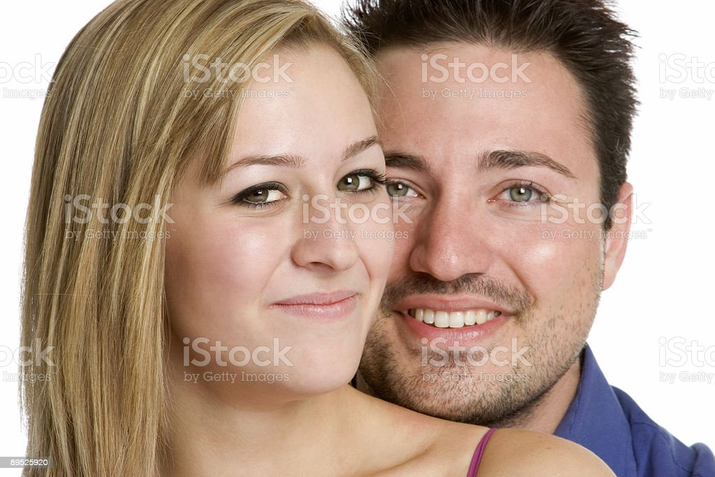 Handsome couple royalty-free stock photo
