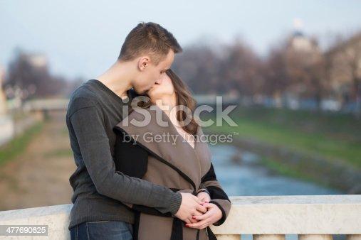 510491454istockphoto Handsome couple posing 477690825
