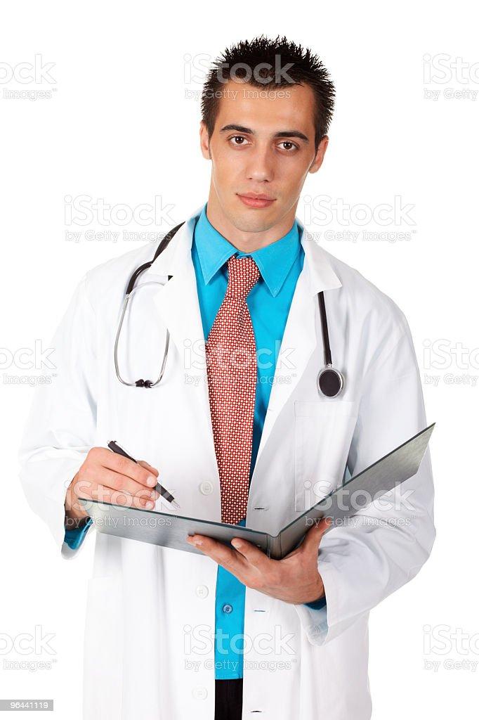 Handsome doctor - Royalty-free Alleen mannen Stockfoto