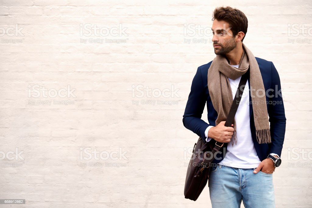 Handsome dude stock photo