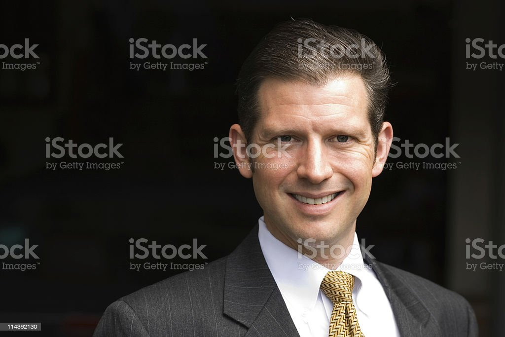 Handsome Executive royalty-free stock photo