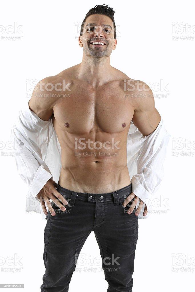 Handsome guy stock photo