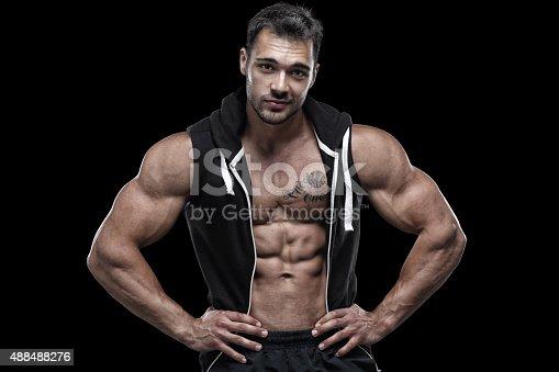 514857923istockphoto Handsome guy 488488276