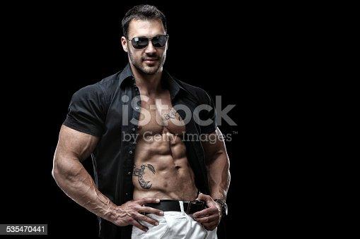 514857923istockphoto Handsome guy 535470441