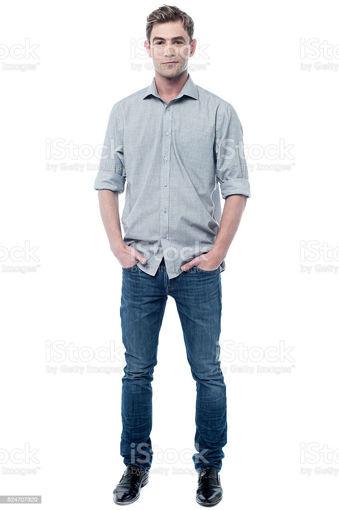 Handsome Guy Posing With Attitude Stock Photo Download Image Now Istock