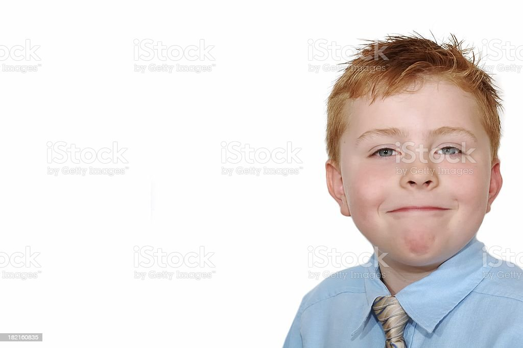 Handsome kid royalty-free stock photo