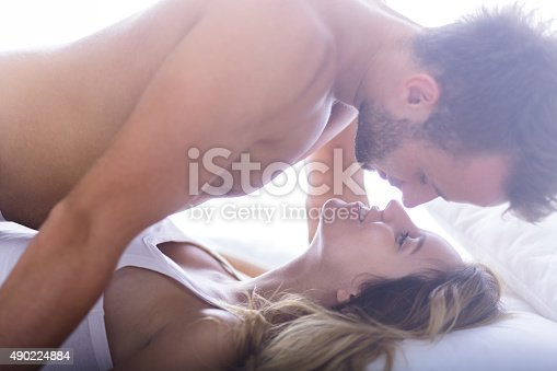 istock Handsome male and his lover 490224884