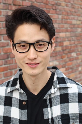 689644378 istock photo Handsome male with glasses portrait 846743222