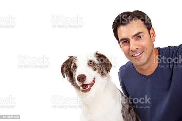 Handsome man and border collie dog picture id531095433?b=1&k=6&m=531095433&s=612x612&h=etpmwbadawda3xnqrmuelwqqpe6lklx atxf0ggnob8=