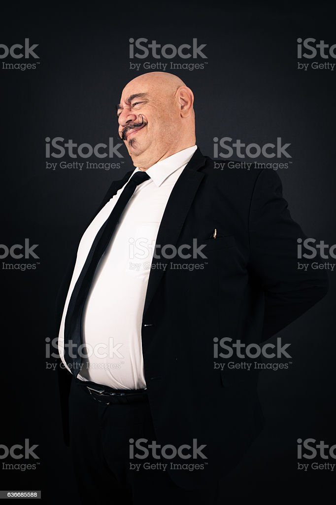 Handsome man doing different expressions in different sets of clothes: backache stock photo