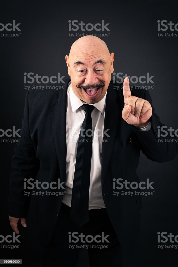 Handsome man doing different expressions in different sets of clothes: drunk stock photo