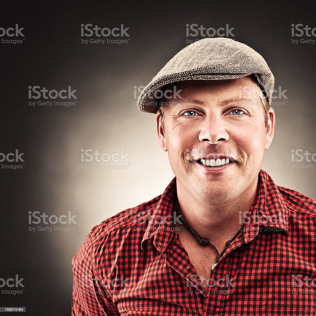 Handsome man in casual clothing royalty-free stock photo