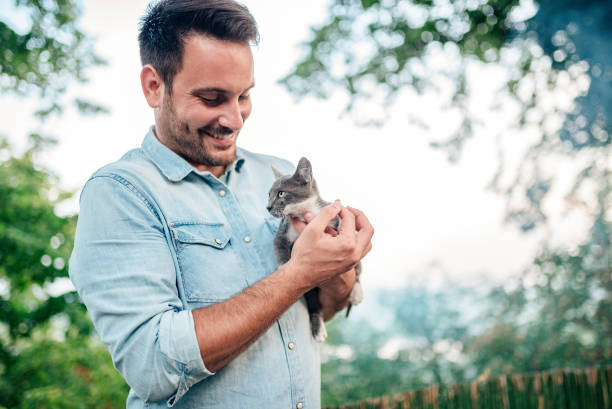 Handsome man is holding and hugging cute cat outdoors picture id1024227786?b=1&k=6&m=1024227786&s=612x612&w=0&h=9x8bm6yg v0zh892by1xqufxxrsc44xahmea6orfz0y=