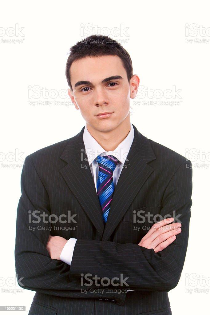 Gut aussehender Mann Lizenzfreies stock-foto
