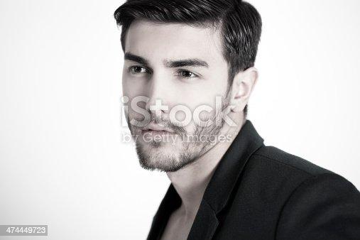 155279067 istock photo Handsome man 474449723