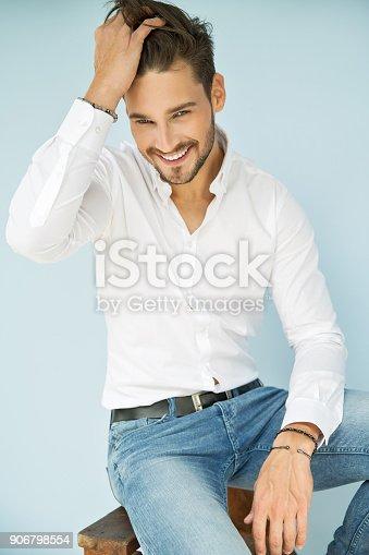 906807208 istock photo Handsome man 906798554