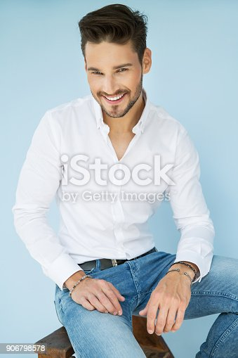 906807208 istock photo Handsome man 906798578