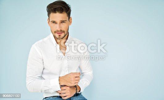 906807208 istock photo Handsome man 906801132