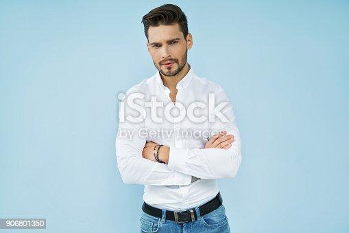 906807208 istock photo Handsome man 906801350