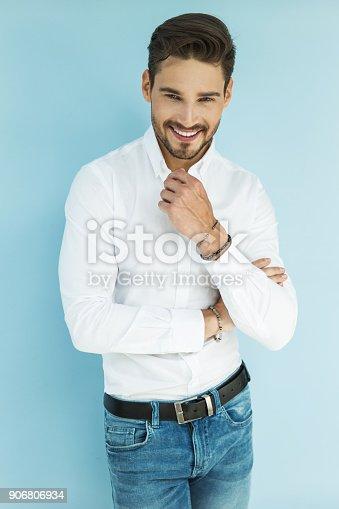 906807208 istock photo Handsome man 906806934
