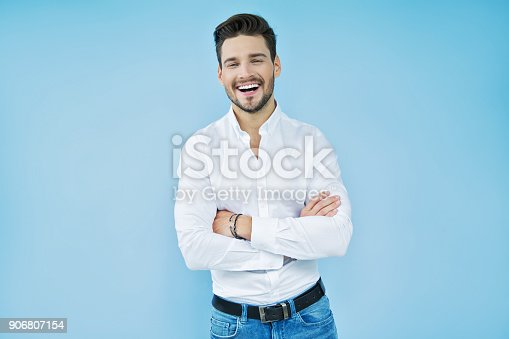 906807208istockphoto Handsome man 906807154