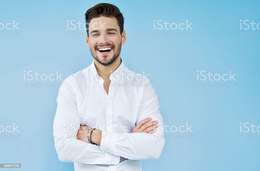ハンサムな男性 ロイヤリティフリーストックフォト
