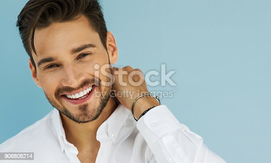 906807208 istock photo Handsome man 906808214