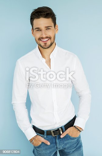 906807208 istock photo Handsome man 906812804