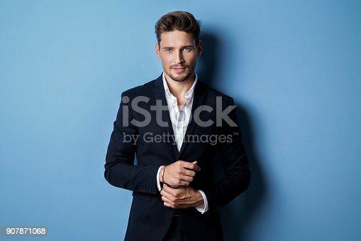 istock Handsome man 907871068